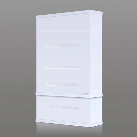Chauffe Eau Electrique Extra Plat WTS50 Blanc 81 L WATERSLIM avec Kit de raccordement