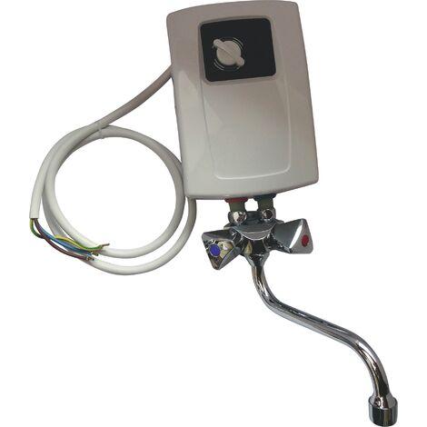 Chauffe-eau électrique instantané lavabo et évier - 2 puissances 5,5kW et 4,4KW