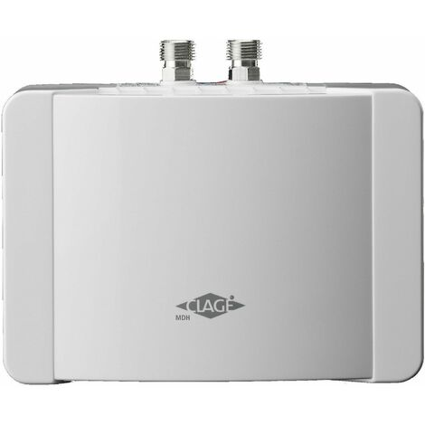 Chauffe-eau électrique instantané pour lavabo - MBH 6 - Débit 3,3 l/min. Puissance : 5,7 Kw - 230 Volt - 25 A, avec câble - MONO