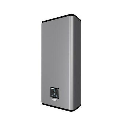 Chauffe-eau électrique Malicio 2 connecté - 2250W - Plat Multiposition - 65L - 2 à 3 personnes - Silver