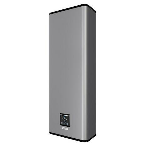 Chauffe-eau électrique Malicio 2 connecté - 2250W - Plat Multiposition - 80L - 3 à 4 personnes - Silver