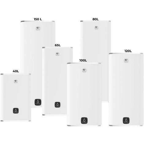 Chauffe-eau électrique MALICIO 3 - Multiposition - 40 litres - Puissance 2250 W - Couleur : Blanc