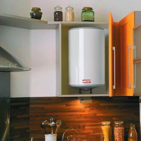 Chauffe-eau electrique petite capacite 15 litres compact sur evier Classe energetique B ref. 221079