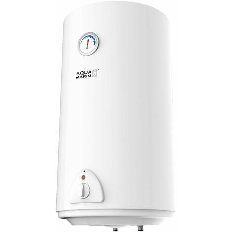 Chauffe-eau électrique réservoir en silicone 80 litres puissance 1500W thermostat à 75 °C
