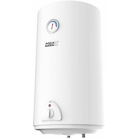 Chauffe-eau électrique réservoir en silicone 80 litres puissance 1500W thermostat à 75 °C - Noir