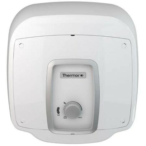 Chauffe-eau électrique Ristretto compact carré Thermor - 2000W - Sur évier - 15L - Blanc