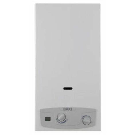 Chauffe-eau gaz au Méthane Baxi Acquaprojet Bleu, 14 Litres chambre ouverte A7698572