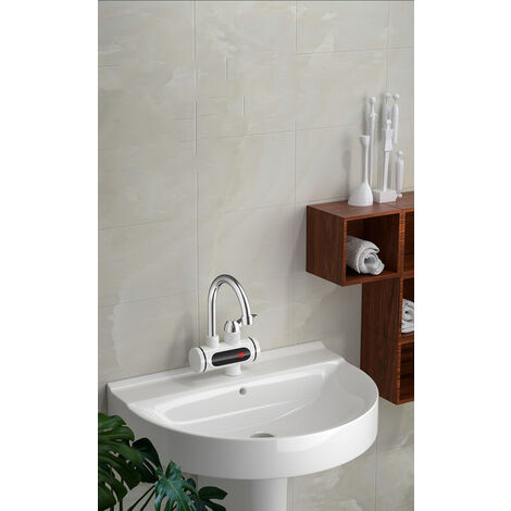 Chauffe-eau instantané de robinet ,électrique 3000W 360 ° (sans pomme de douche)