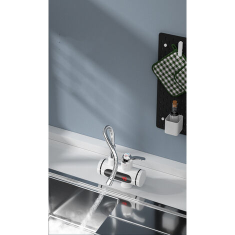 Chauffe-eau instantané de robinet électrique 3000W 360 ° (sans pomme de douche)a