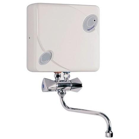 Chauffe-eau instantane electrique optimus - sur evier