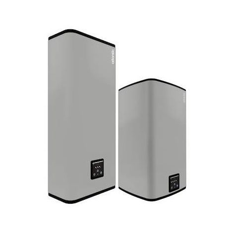 Chauffe-eau LINEO CONNECTE multiposition gris 80L