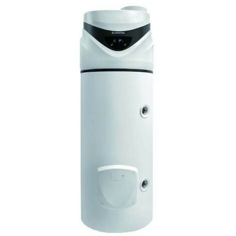 Chauffe-eau monobloc à pompe à chaleur Ariston NUOS PRIMO HC 240 SYS sous le sol   Blanc