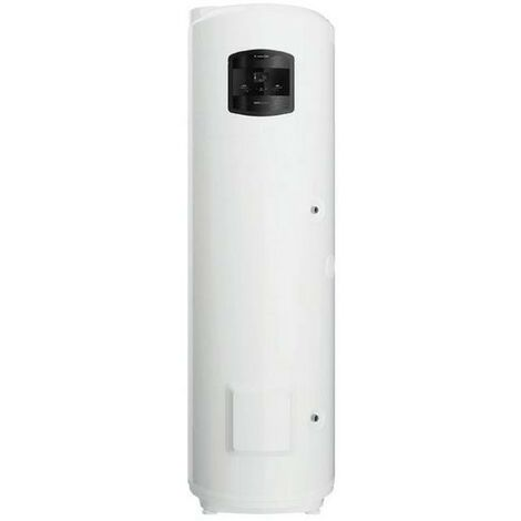 Chauffe-eau monobloc Ariston NUOS PLUS WI-FI 250 SYS à pompe à chaleur au sol avec serpentin à intégrer | Blanc