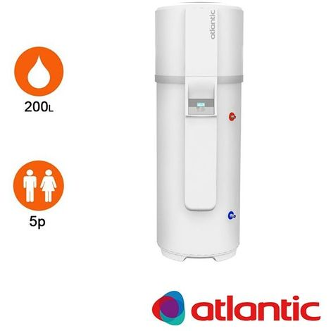 Chauffe-eau Thermodynamique Atlantic Calypso 200L