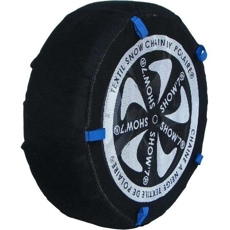 Chaussette chaine neige textile pneu 145/80R14 haute résistance