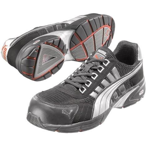 Chaussures de sécurité Puma Speed Low S1P HRO SRA 100% sans métal Noir Blanc