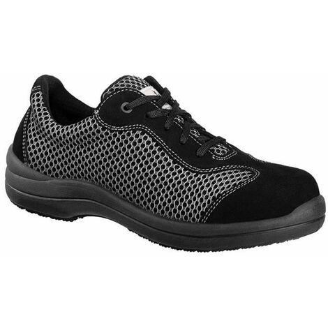 Chaussure de sécurité basse femme Lemaitre S1P Reseda SRC Gris / Noir 38