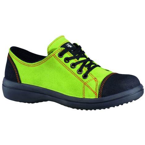 Chaussure de sécurité basse femme Lemaitre VITAMINE S2 SRC Vert 36
