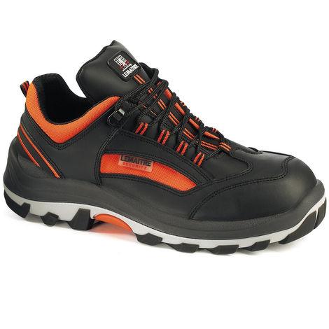 Chaussure de sécurité basse Lemaitre MAMBO S3 CI SRC Noir / Orange
