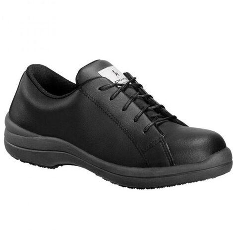 53d5e54297deb Chaussure de sécurité femme basse Lemaitre S3 Regina SRC Noir