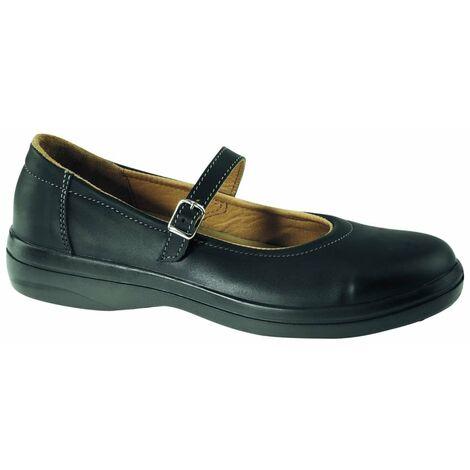 acheter populaire c66c9 f0a42 Chaussure de sécurité femme Lemaitre Corinne S2 SRC Noir
