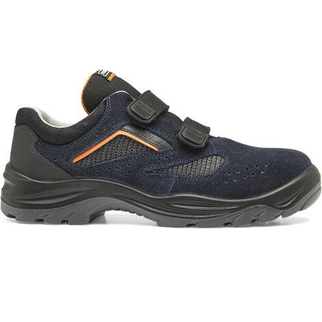 Chaussure de securite fermeture par velcro mixte