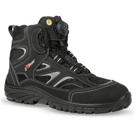 34f8e349b3b5 Chaussure de sécurité haute TURN S1P SRC ESD - BOA - U-Power - Noir ...