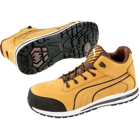 Chaussure de sécurité montante 100% non métaliique Puma Dash Wheat Mid S3 SRC