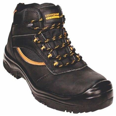nice shoes biggest discount uk store Chaussure de sécurité montante Coverguard Pearl S3 SRC 100% sans métal Noir
