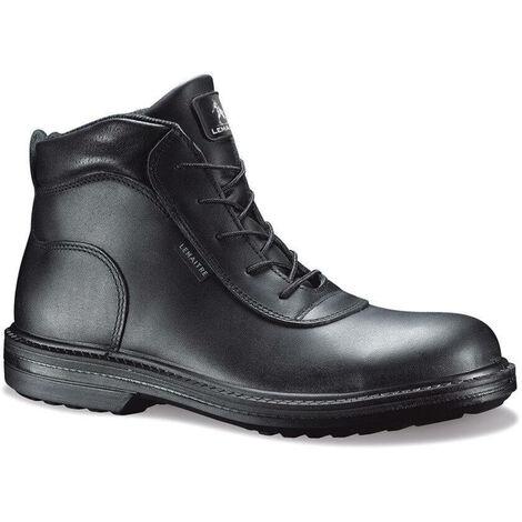 Chaussure de sécurité montante cuir Lemaitre S3 ZENITH SRC 100% non métalliques Noir 44