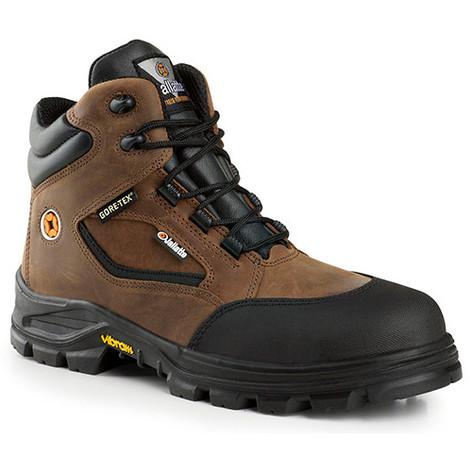 ecc7b8abf206f1 Chaussure de sécurité montante JALROCHE SAS GORE S3 CI HI WR HRO SRC -  Jallatte - Marron / Noir - 45 - taille: 45