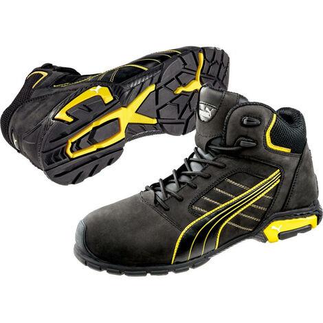 824bd63f6e Chaussure de sécurité montante Puma Amsterdam Mid S3 SRC Noir 43 - 37477