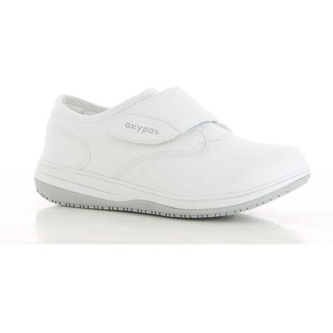 Chaussure de travail femme Oxypas Emily ESD SRC Blanc