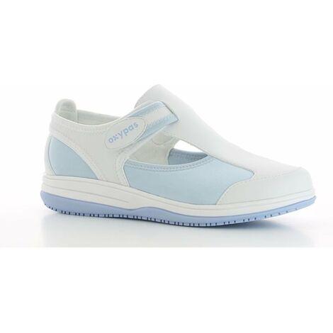 Chaussure de travail Oxypas Candy ESD SRC Bleu Clair