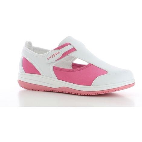 963145586c6e81 Chaussure de travail Oxypas Candy ESD SRC Rose Fuchsia 36 - 40112