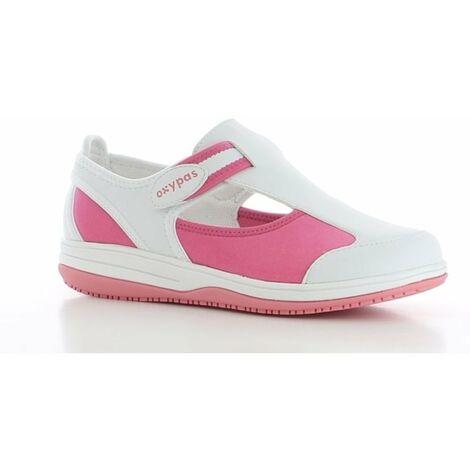 Chaussure de travail Oxypas Candy ESD SRC Rose Fuchsia