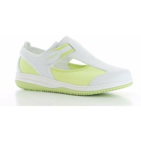 Chaussure de travail Oxypas Candy ESD SRC Vert Clair