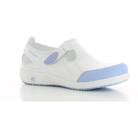 Chaussure de travail Oxypas Lilia ESD SRC Bleu Clair