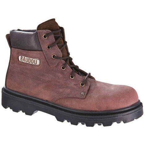 Chaussure sécurité avec embout de sécurité acier et semelle en acier inoxydable NIAGARA - Baudou