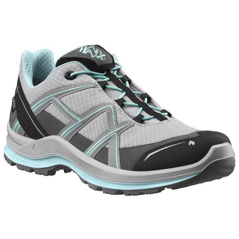 Chaussures de loisirs Haix Black Eagle Adventure 2.1 GTX WS Low, Modèle femme, grey/mint, disponibles en plusieurs pointures