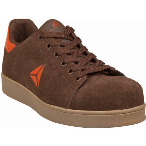 Securite Chaussures De Basses Delta Cuir Croute Velours Smash Plus c5lK13TFuJ