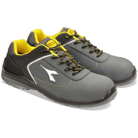 28b6eb3efcf Chaussures de sécurité basses Diadora D-Blitz S3 SRC 100% non métalliques  Gris