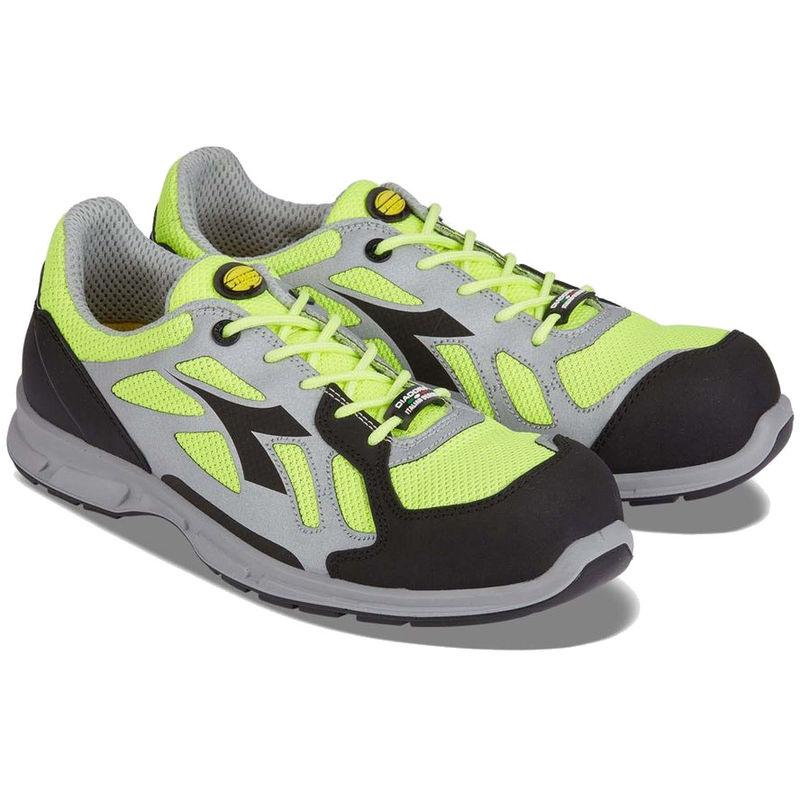 Chaussures de sécurité basses Diadora D FLEX LOW BRIGHT S1P SRC 100% sans métal Jaune