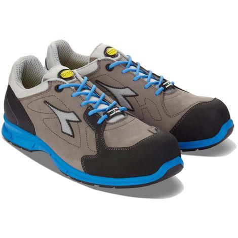 Chaussures de sécurité basses Diadora D-FLEX LOW S3 SRC 100% sans métal Gris