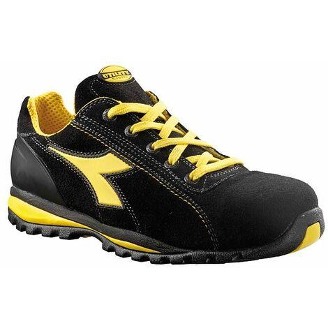 vente chaude en ligne 99464 682ae Chaussures de sécurité basses Diadora Glove II S1P SRA Noir / Jaune
