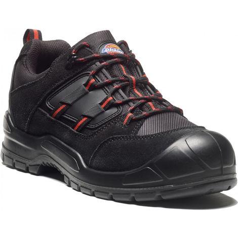 Chaussures Noir De Dickies Basses Everyday Rouge Sécurité dCsthQxr