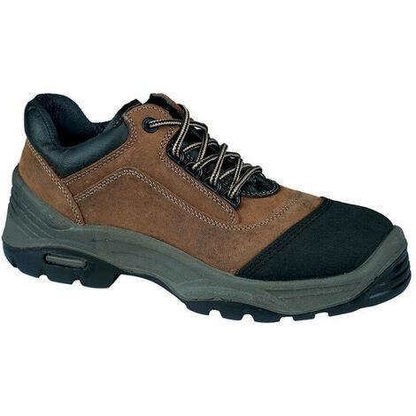 Chaussures de sécurité basses Lemaitre Breva S3 CI SRC 100% non métalliques Marron