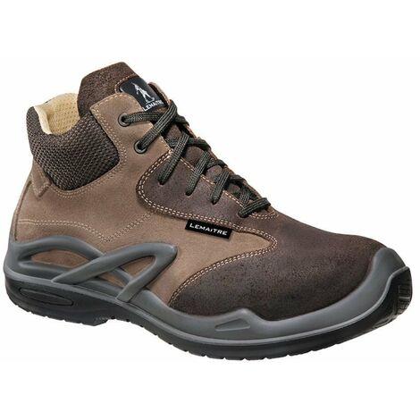 Chaussures de sécurité basses Lemaitre Morzine S3 CI SRC 100% non métalliques Marron