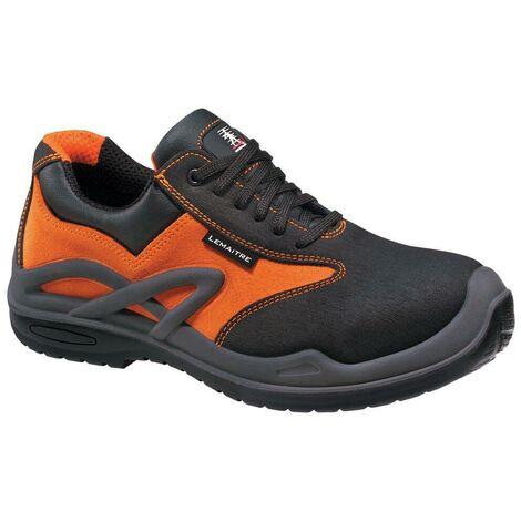 Chaussures de sécurité basses Lemaitre Royan S3 CI SRC 100% non métalliques Orange