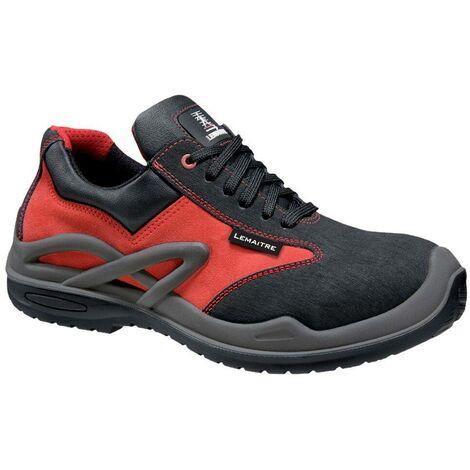 Chaussures de sécurité basses Lemaitre Royan S3 CI SRC 100% non métalliques Rouge